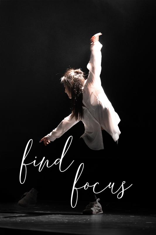 focused dancer